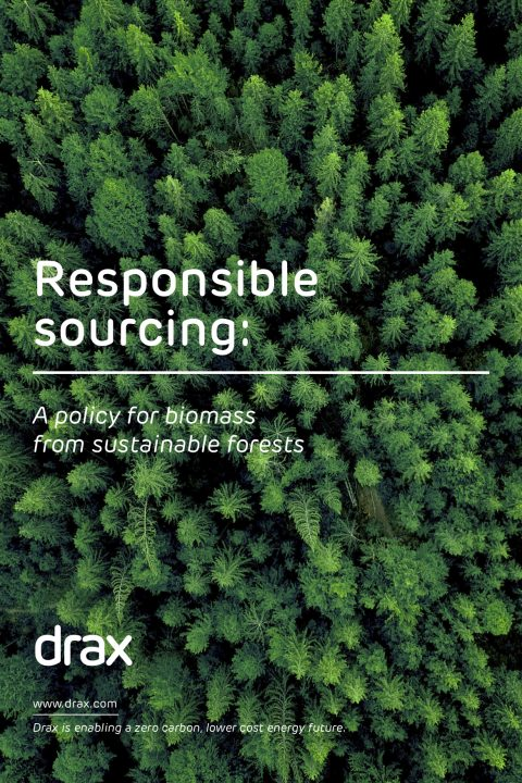 front cover of 'Responsible sourcing' PDF